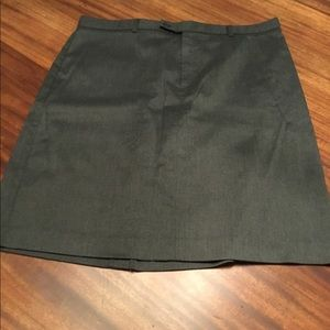 Old Navy Charcoal Grey Skirt